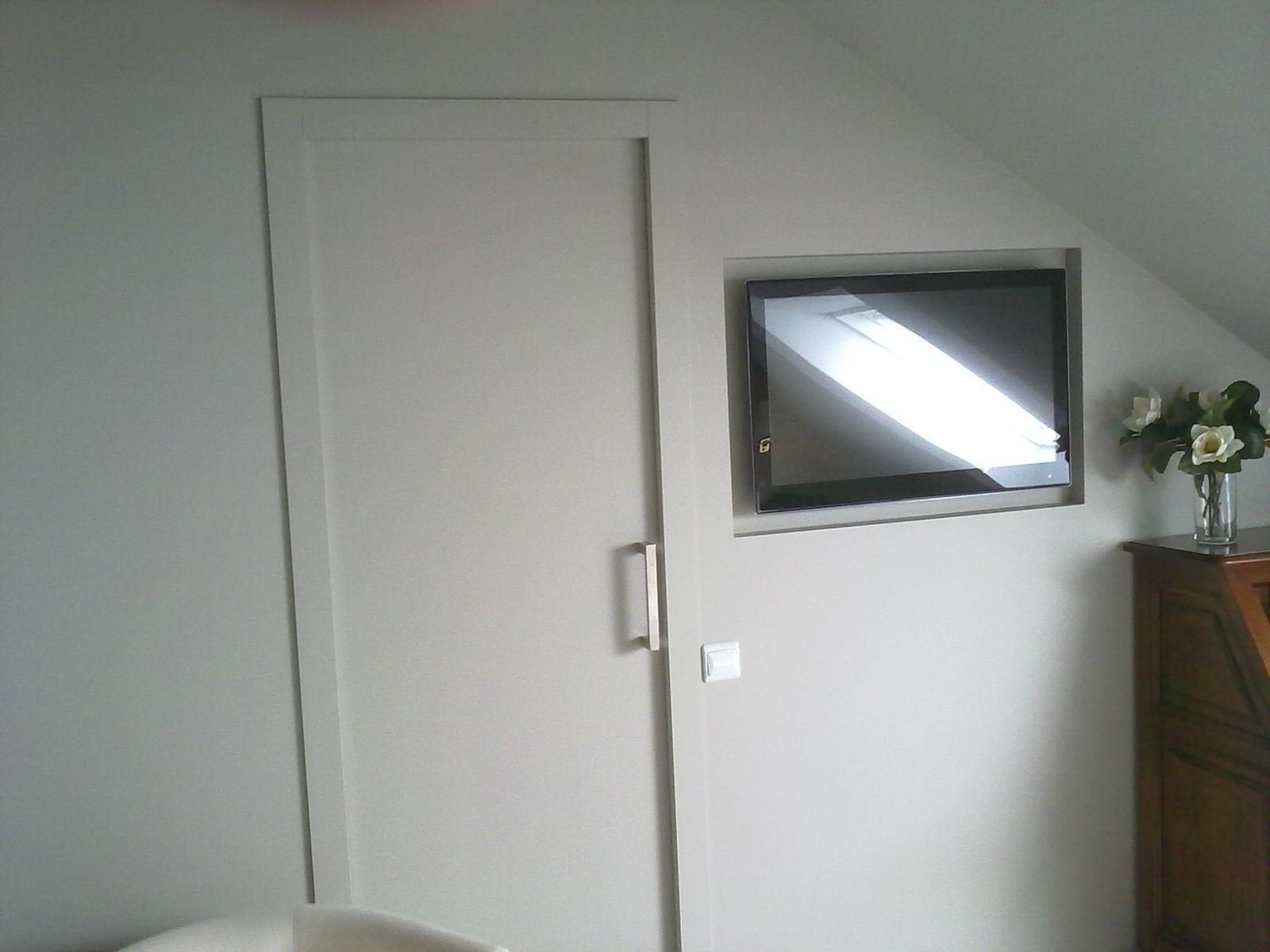 Puertas correderas con casoneto finest puerta corredera for Puertas correderas bricor